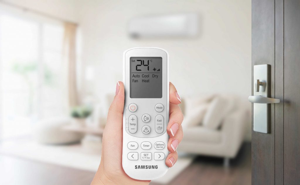 telecomando del climatizzatore