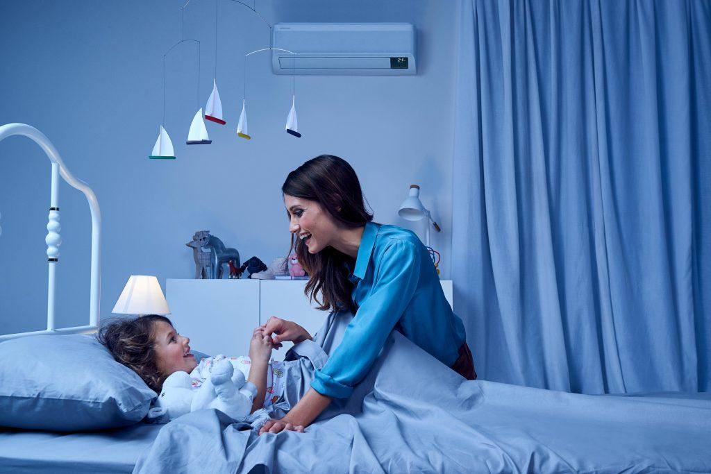 climatizzatore e bambini